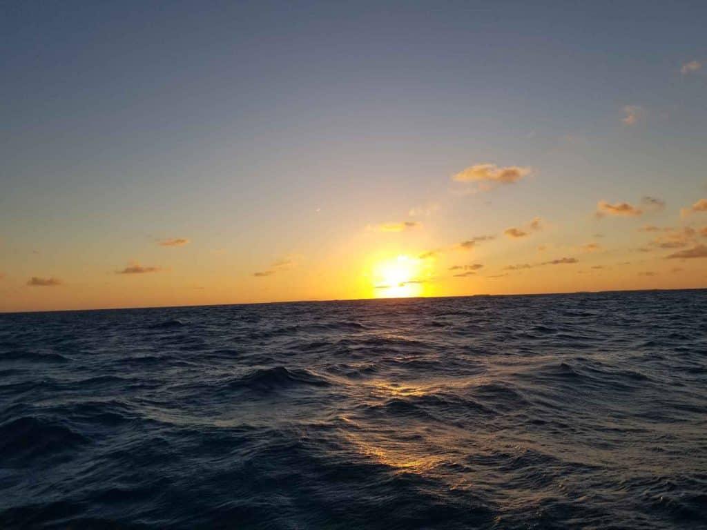 sunset in key west from sunset cruise catamaran