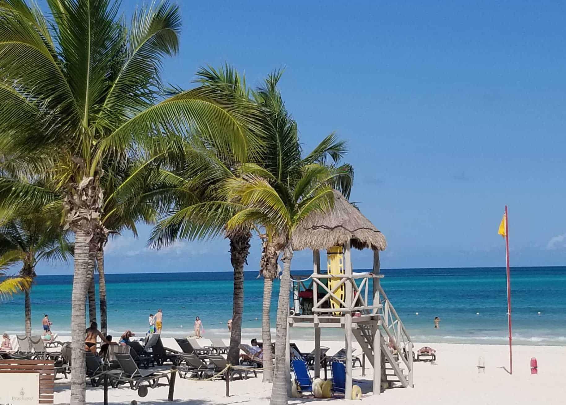 maroma beach in mexico