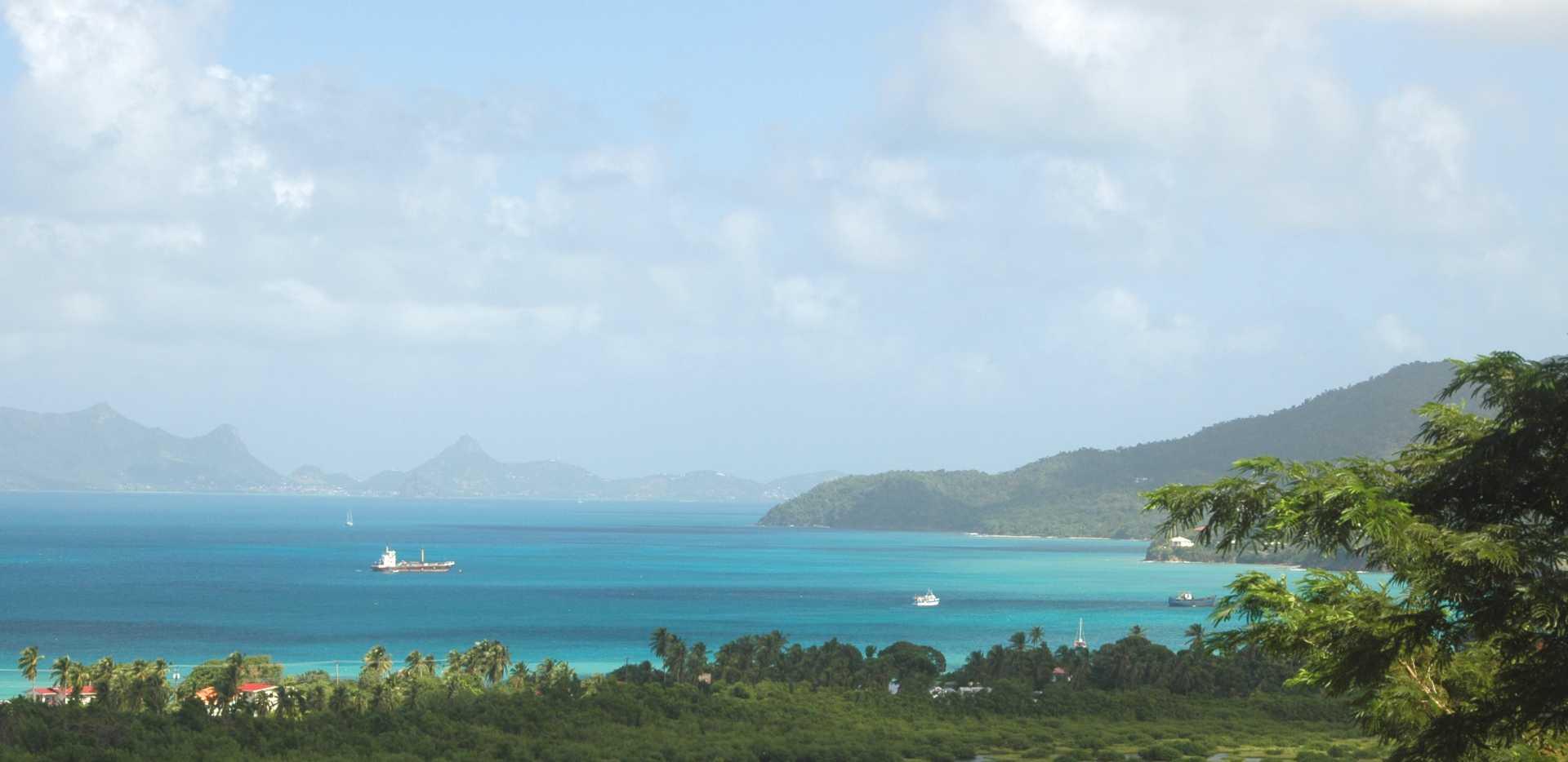 harbor near Carriacou Grenada