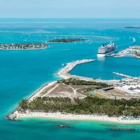 aerial view of key west florida in the florida keys