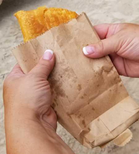 Jamaican empanada