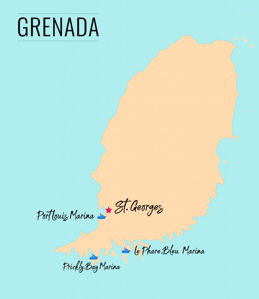 Marinas in Grenada