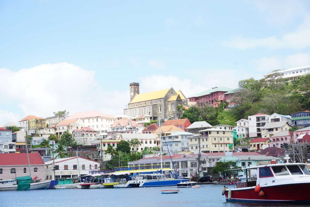 The Carenage in St. Georges, Grenada