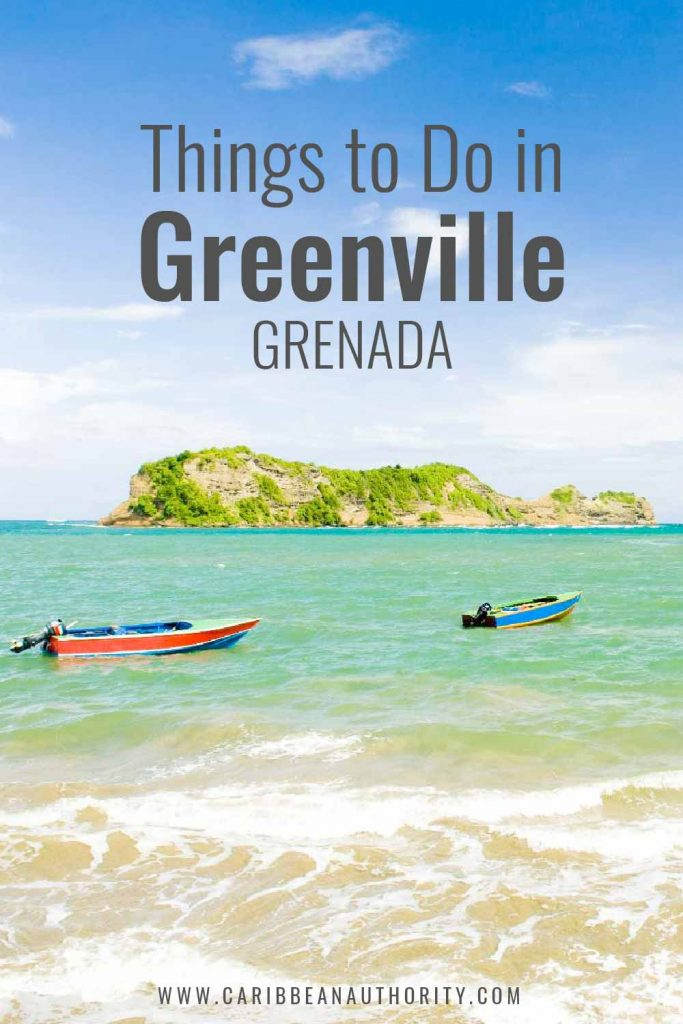 Pinterst pin of things to do in Greenville, Grenada
