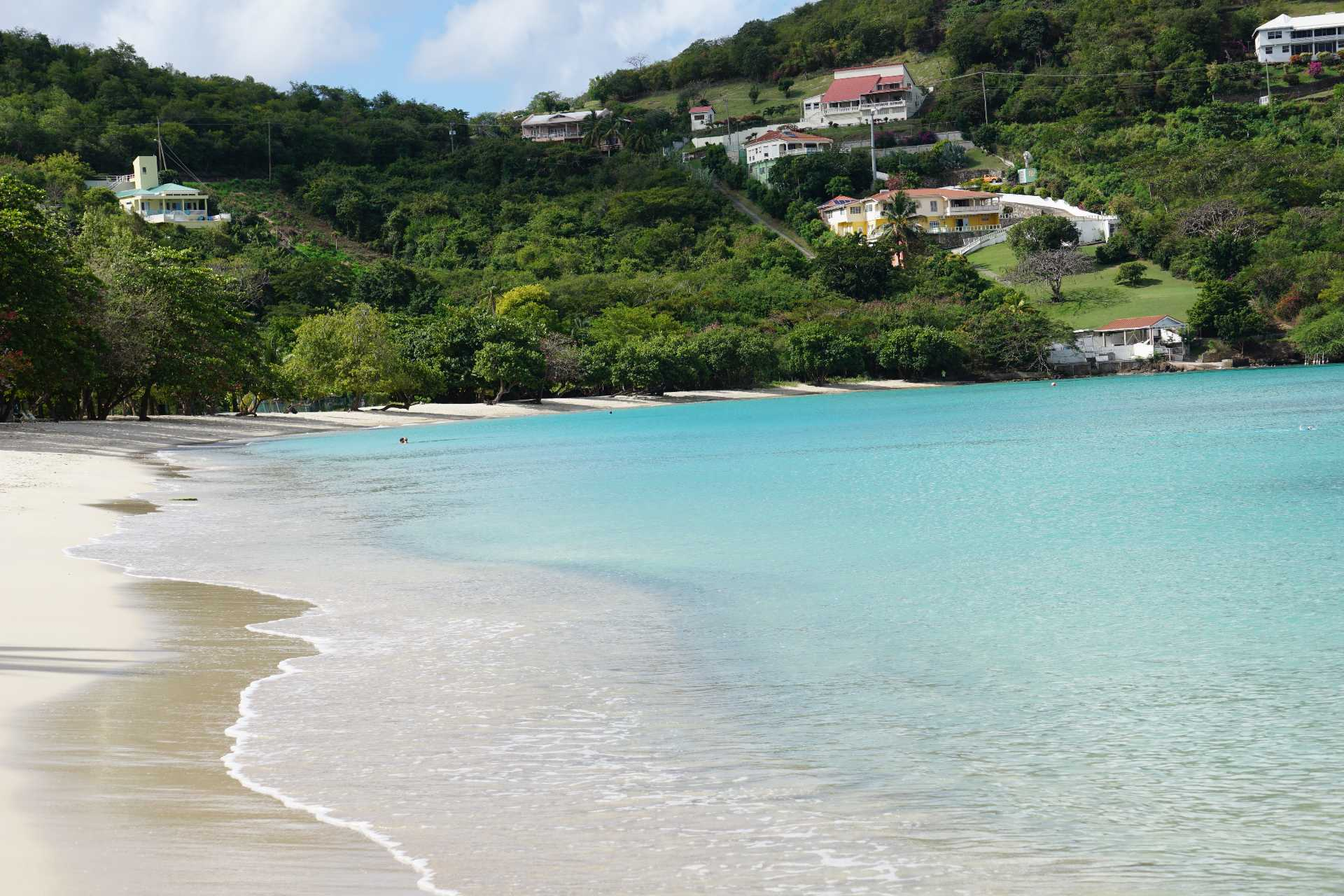 Morne Rouge Beach in Grenada