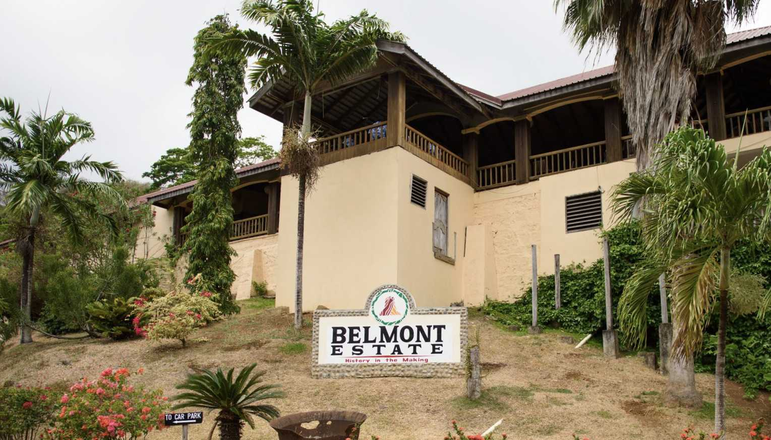 Belmont Estate building in Grenada